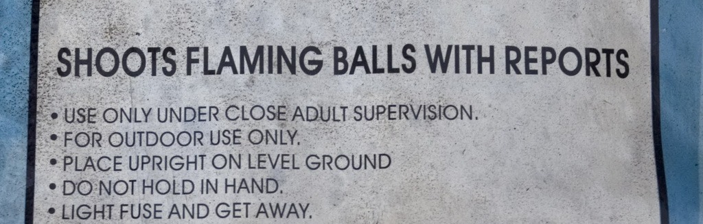Shoots Flaming Balls With Reports - banner