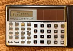 Radio Shack EC-4009 detail