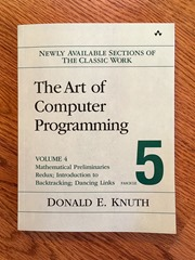 Knuth Fascicle 5