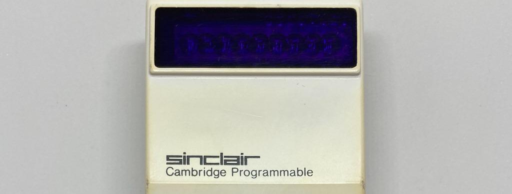 Sinclair Cambridge Scientific - banner