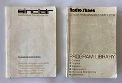 Sinclair Cambridge Scientific - manuals