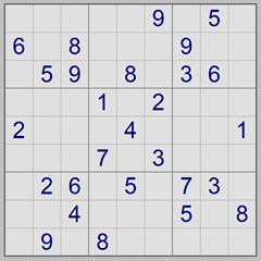 Example Sudoku puzzle