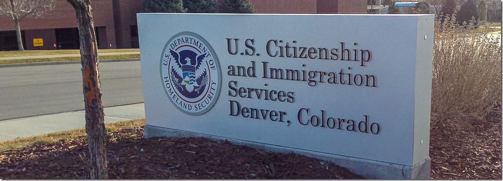 Denver Immigration Services sign