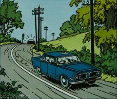 Tintin-Ford Zephyr