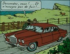 Tintin-Jaguar Mark X