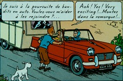 Tintin-Triumph Herald