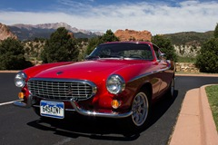 Volvo 1800s at Garden of the Gods