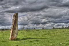 HDR image of Long Meg