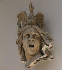 Statue Expressing Horror