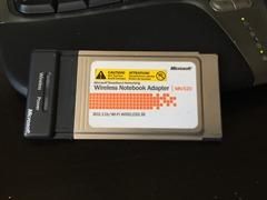 PC Card wireless adapter
