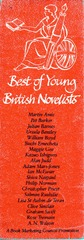 Best of Young British Novelists bookmark from 1983