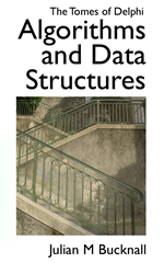 Kindle Cover for Tomes of Delphi Algorithms and Data Structures