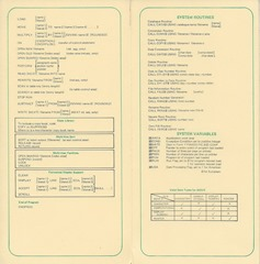 MicroCobol sheet Pages 3-4