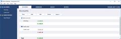 MoneyspireUX - main window - Accounts - nexttime