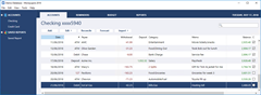 MoneyspireUX - main window - an account