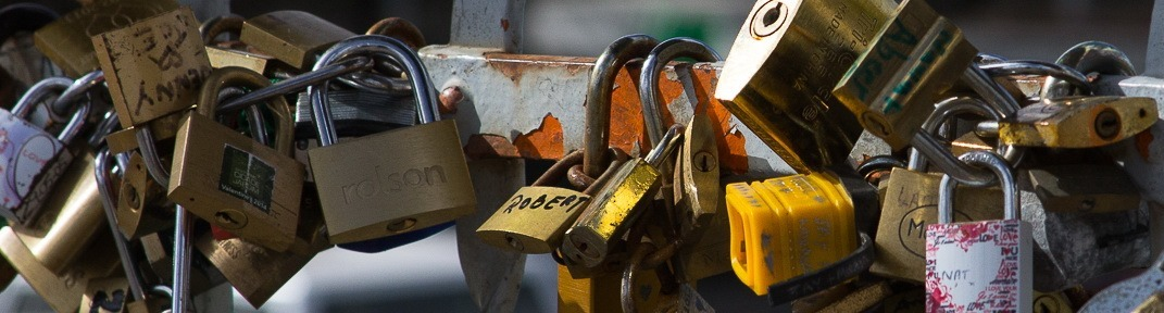 Locks on Bridge - banner