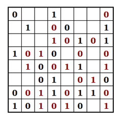 Example Binary Puzzle - Step 3