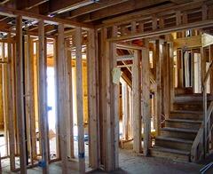 Timbered frame