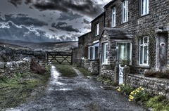 Cottages In Muker (Creative HDR preset)