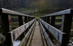Footbridge over the Swale