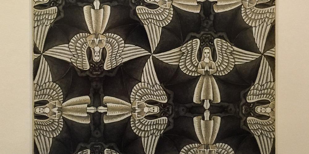 Escher angels and demons