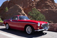 Volvo 1800s at Garden of the Gods 10