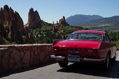 Volvo 1800s at Garden of the Gods 12