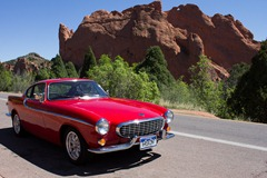 Volvo 1800s at Garden of the Gods 13