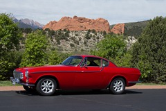 Volvo 1800s at Garden of the Gods 1