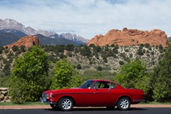 Volvo 1800s at Garden of the Gods 3