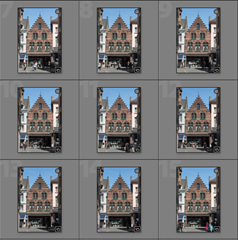 Set of photos of Bruges Merchant House