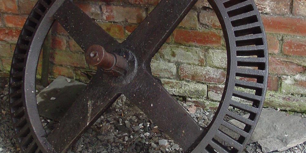 Large cog wheel