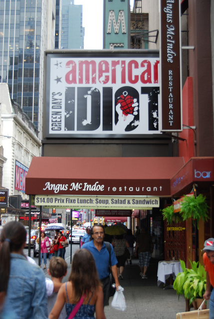American Idiot, On Broadway!